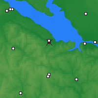 Nearby Forecast Locations - Chyhyryn - Map
