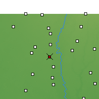 Nearby Forecast Locations - Panipat - Map