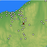 Nearby Forecast Locations - Stow - Map