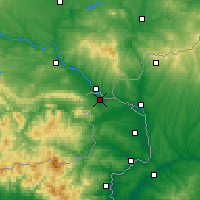 Nearby Forecast Locations - Trigono - Map