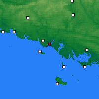 Nearby Forecast Locations - Lorient - Map