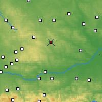 Nearby Forecast Locations - Miechów - Map