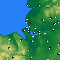 Nearby Forecast Locations - Sefton - Map