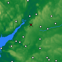 Nearby Forecast Locations - Stroud - Map