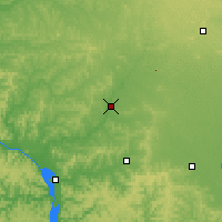 Nearby Forecast Locations - Black River Falls - Map