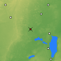 Nearby Forecast Locations - Waupaca - Map