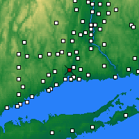 Nearby Forecast Locations - Hamden - Map
