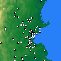 Nearby Forecast Locations - Reading - Map
