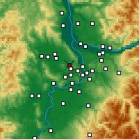 Nearby Forecast Locations - Beaverton - Map