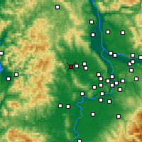 Nearby Forecast Locations - Forest Grove - Map