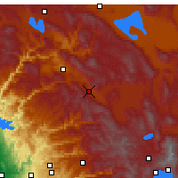 Nearby Forecast Locations - Blairsden-Graeagl - Map