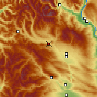 Nearby Forecast Locations - Cle Elum - Map