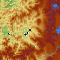 Nearby Forecast Locations - Eagle Point - Map