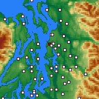 Nearby Forecast Locations - Edmonds - Map