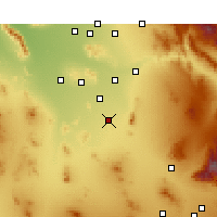 Nearby Forecast Locations - Eloy - Map
