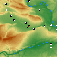 Nearby Forecast Locations - Grandview - Map