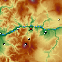 Nearby Forecast Locations - Hood River - Map