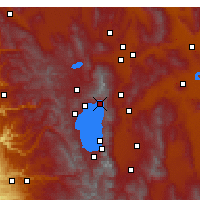 Nearby Forecast Locations - Incline Village - Map