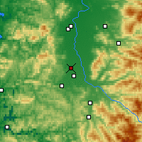 Nearby Forecast Locations - Junction City - Map