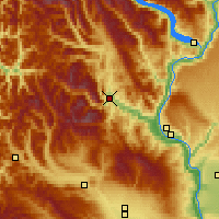 Nearby Forecast Locations - Leavenworth - Map