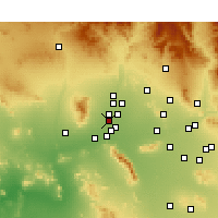 Nearby Forecast Locations - Litchfield Park - Map