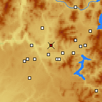 Nearby Forecast Locations - Mead - Map