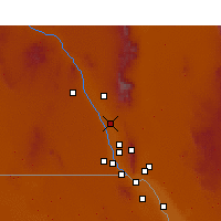 Nearby Forecast Locations - Mesquite - Map