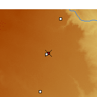 Nearby Forecast Locations - Plainview - Map