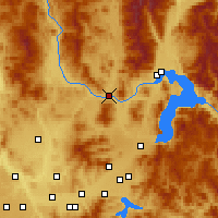 Nearby Forecast Locations - Priest River - Map