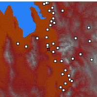 Nearby Forecast Locations - Riverton - Map