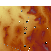 Nearby Forecast Locations - Sahuarita - Map