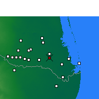 Nearby Forecast Locations - San Benito - Map