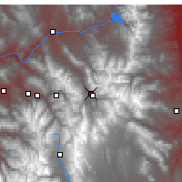Nearby Forecast Locations - Silverthorne - Map