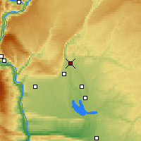 Nearby Forecast Locations - Soap Lake - Map