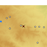 Nearby Forecast Locations - Sweetwater - Map
