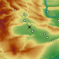 Nearby Forecast Locations - Wapato - Map