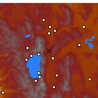 Nearby Forecast Locations - Washoe Valley - Map
