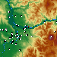 Nearby Forecast Locations - Washougal - Map